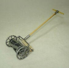 Non-Working Dollhouse Metal & Wood Push Lawn Mower 1:12 Doll House Miniatures