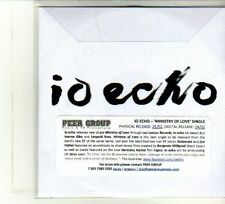 (DU366) Io Echo, Ministry Of Love - DJ CD