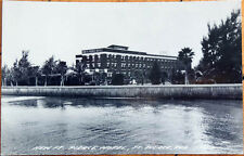 1950s Realphoto Postcard: New Ft. Pierce Hotel - Ft. Pierce, Florida FL