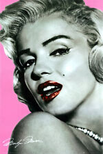 MARILYN MONROE PINK LIPS MOVIE POSTER PRINT - LARGE  24 x 36     NEW