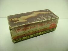 1946 Hollywood Star Viewer Nude Risque Woman Models with Box 32 Photos RARE