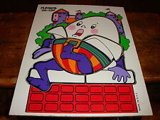 Vintage Playskool Humpty Dumpty Puzzle 10 Pieces Made in USA