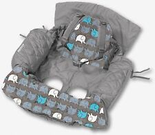 Shopping Trolley Cover and High chair cover (2in1)  Elephants,,Xmas 10%off inc
