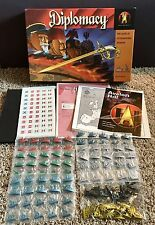 Diplomacy Board Game by Avalon Hill- 1999, New Sealed Pieces, 99.9% Complete