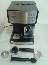 Mr. Coffee Cafe Barista Espresso Maker with Automatic Milk Frother BVMC-ECMP1000