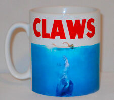 Claws Mug Can Personalise Funny Jaws Film Movie Parody Sloth Animal Lover Gift