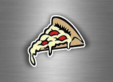 Sticker car bike skateboard decal vinyl kawaii pizza slice jdm bomb cute tuning