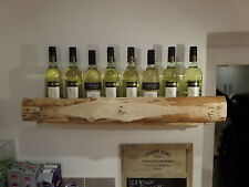 RUSTIC COPERTA COPRILETTO vino rack / BOTTLE HOLDER. finitura naturale.