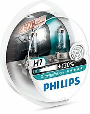 Philips Xtreme X-treme Vision + 130% H7 Twin Car Headlight Bulbs FREE P&P