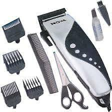 Nova/Maxel/Brite Electric Hair Clipper Beard Trimmer Shaver 4 Attachment