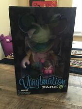 "Disney Vinylmation Park 5 Mad Hatter 9"" and Dormouse 3"" Set Limited Edition 1200"