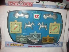 HASBRO MONOPOLY 10 PC PARTY LIGHTS UL  LISTED 2002 NEVER REMOVED FROM BOX