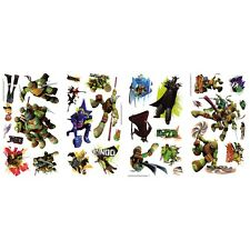TEENAGE MUTANT NINJA TURTLES 30 Wall Decals TMNT Raph Leo Room Decor Stickers