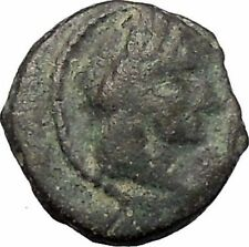 Aretas IV Arab Kingdom of Nabataea PETRA 5BC Original Ancient Greek Coin i47491