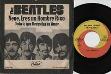 "THE BEATLES Todo lo que Necesitas es amor r@re Mexican 7"" single 45 Mexico 1967"