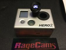 Gopro hd hero2 Camera Paintball Airsoft Deer Hunter Cam W/8mm Tele-Photo Lens