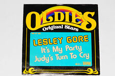 """LESLEY GORE -It's My Party / Judy's Turn To Cry- 7"""" 45"""