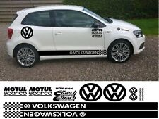 VOLKSWAGEN KIT x16pc GRAPHICS STICKERS DECALS VW UP POLO PASSAT BEETLE GOLF DUB
