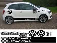 VOLKSWAGEN KIT x16pc GRAFICA ADESIVI Decalcomanie VW UP POLO PASSAT BEETLE GOLF DUB