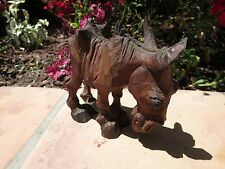 "H. S. ""Andy Anderson"" (1893-1963) Original Woodcarving MULL / DONKEY Sculpture"