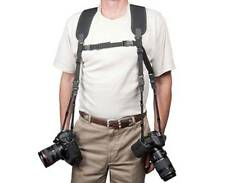 OP/TECH USA DUAL HARNESS XL CAMERA BINOCULAR STRAP OPTECH 2 CAMERA STRAP X-LARGE