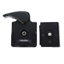 323 Quick Release Adapter For Camera DSLR with 200PL-14 QR Plate black