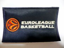 TURKISH AIRLINES EUROLEAGUE BASKETBALL VINTAGE BLACK PATCH UNUSED VERY NICE!!!!