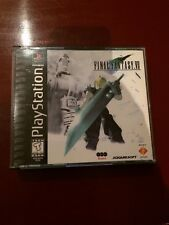Final Fantasy VII Sony PlayStation 1 Near-Mint Complete Free Shipping 7 PS1