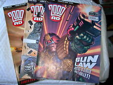2000AD BACK PROGS 1400 -1598  ANY 2 FOR £1.00  - ALL IN EX CONDITION JUDGE DREDD