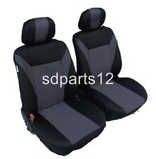 FABRIC 1+1 FRONT SEAT COVERS FOR TOYOTA YARIS AURIS AVENSIS COROLLA RAV 4 HILUX