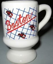 Boston Red Lobster Mug Shot Glass Made in Taiwan Massachusetts Souvenir