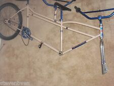 Old School 26 Gary Little John GLJ tandem bmx cruiser frame fork only