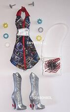 Monster High Wydowna Spider I Heart Fashion Doll Outfit Dress & Shoes NEW Boots