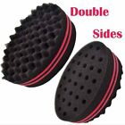 New Double Side Hair Brush Sponge for Dreads Afro Twist Curl Coil Ideal Gift ZON
