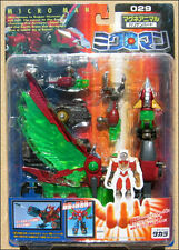 Microman Magne Power Micronaut Robotman TAKARA Figure Hariken Hurricane Bird 029