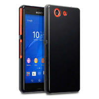 Terrapin Solid Black TPU Gel Case / Cover for Sony Xperia Z3 Compact