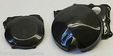 JAP4 APRILIA RSV4 1000 CARBON KEVLAR ENGINE CASE COVER SET