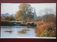 POSTCARD DERBYSHIRE FISHING LAKES - BEEHIVE FARM - ROLISTON