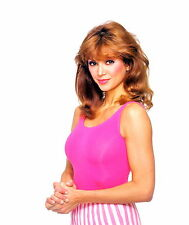 1980-1989 VICTORIA PRINCIPAL color glamour photo (Celebrities & Musicians)