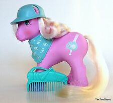 my little pony G1** RARE BROTHER SLUGGER COMPLETE ** VERY PRETTY