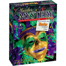 MURDER MYSTERY PARTY - MURDER AT THE MARDIGRAS ** GREAT GIFT **