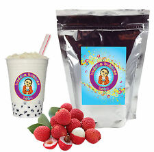 Lychee Boba / Bubble Tea Powder by Buddha Bubbles Boba (1 Pound | 453 Grams)