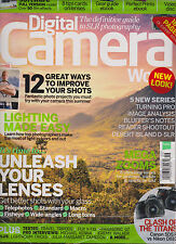 DIGITAL CAMERA WORLD MAGAZINE UK #168 SEPTEMBER 2015, WITH FREE GIFTS SEALED.