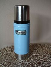 Classic Vacuum Bottle Hammertone Blue 16oz Stanley Drink Container Thermo