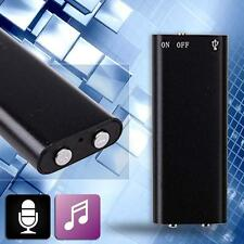 Súper Mini Sensible Spy Micrófono 8GB Grabadora De Voz Digital MP3