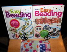 Lot 2  EASY BEADING Vol 1 & 2 The Best from BeadStyle Magazine HB Jewery Craft