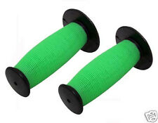 Bicycle Handle Bar Mushroom Grips Black/Green BMX Boys And Girls Bikes 163182