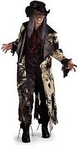 Men Mad BAD HATTER Costume Coat Mask Hat w Hair Vest Adult Standard Medium 42 44