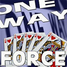 One Way Force Deck - 10 Of Spades - Red Bicycle Cards - Magic Tricks