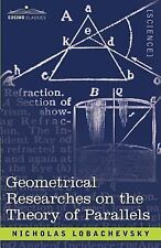 Geometrical Researches on the Theory of Parallels-ExLibrary